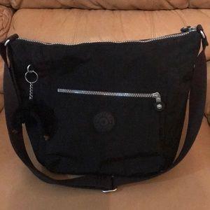 Black Kipling Alenya Crossbody & Shoulder Bag